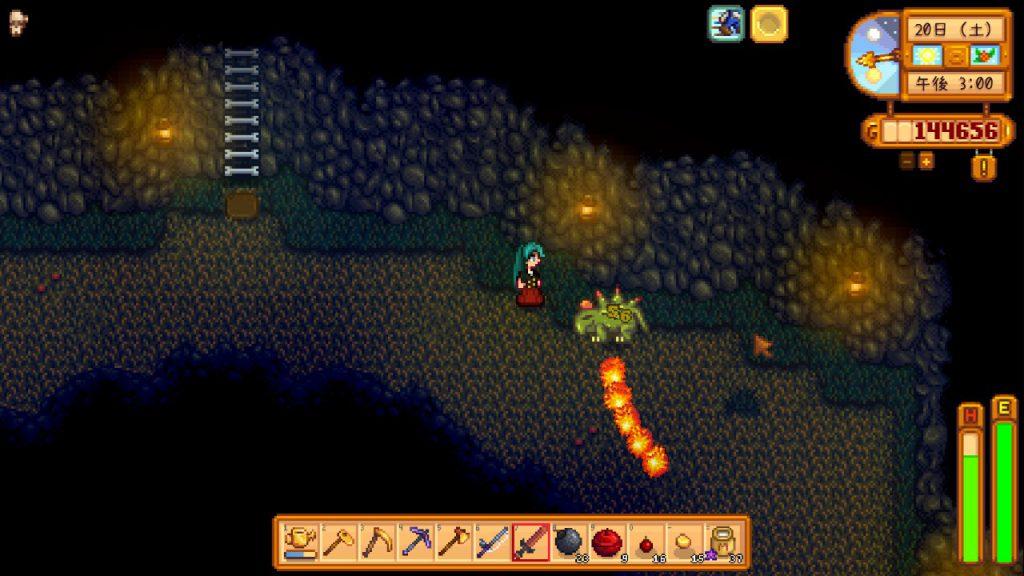 洞窟 の ドクロ デュー スター バレー